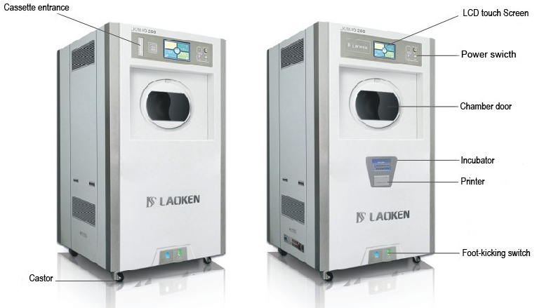 Gas plasma sterilizer